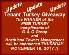 Tenant Turkey Giveaway