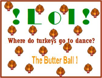 Where do turkeys go to dance?