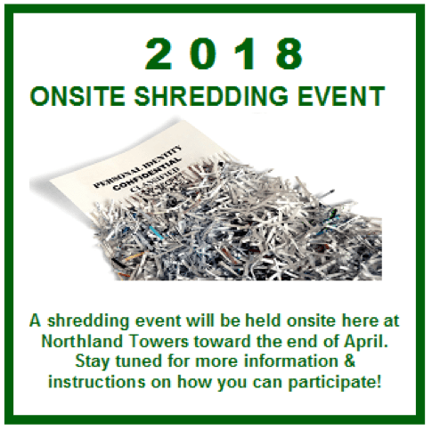 On-site shredding